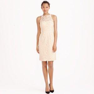 J.Crew Pamela Wedding Dress in Leavers Lace